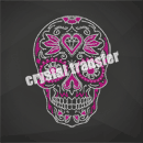 Sugar Skull Crystal Transfers Wholesale for Decoration