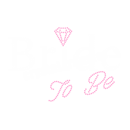 Bride to Be Rhinestone Iron On Transfers Wholesale