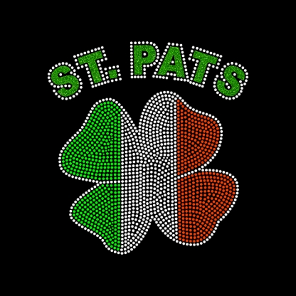 Custom Latest St.Pats Clovers Iron On Decal Designs